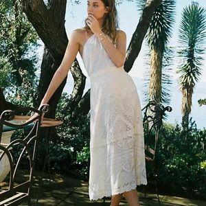 NWT ANTHROPOLOGIE Farm Rio Stacie Maxi Skirt XS